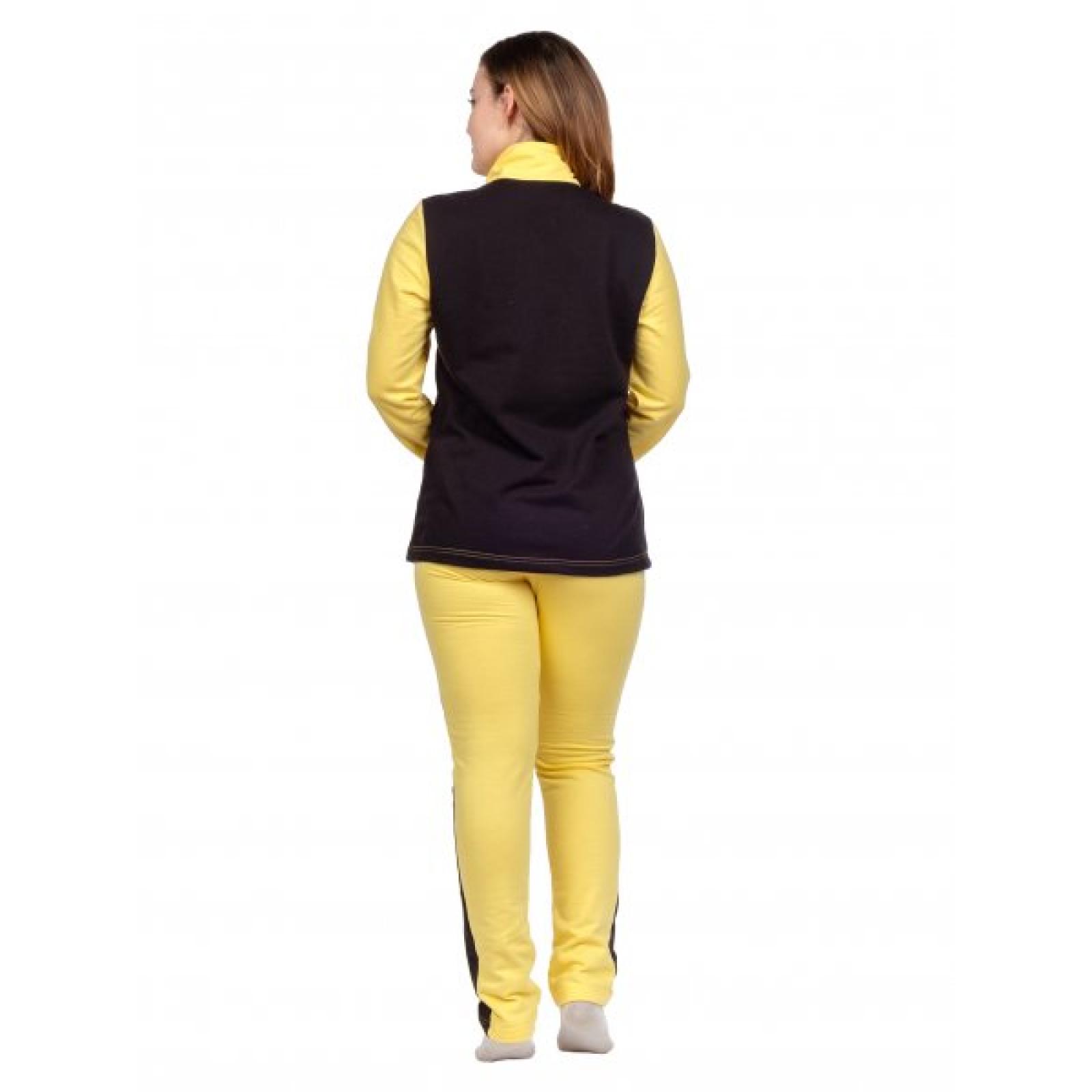 Костюм комбинированный жёлтый М-0097Ж