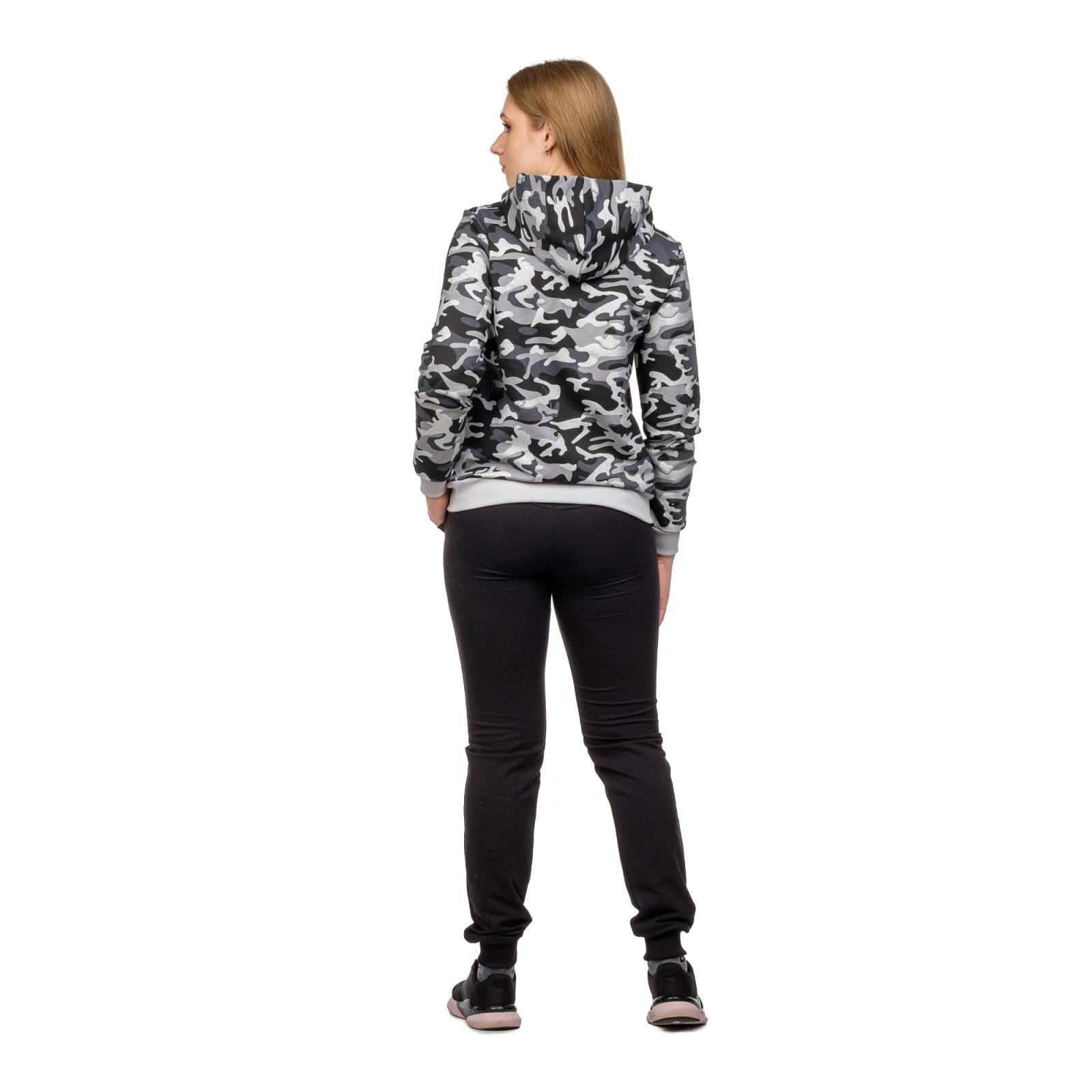 Костюм Чёрный камуфляж (брюки+кофта на замке) М-0202ЧКФ
