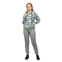 Костюм Зелёный камуфляж (брюки+кофта на замке) М-0202ЗКФ