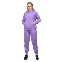 Костюм футер-петля Лаванда (худи+брюки) М-0186ЛАВ