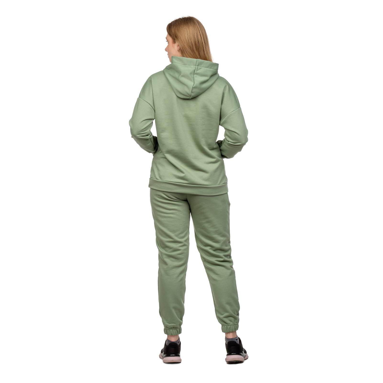 Костюм футер-петля Мята (худи+брюки) М-0186М