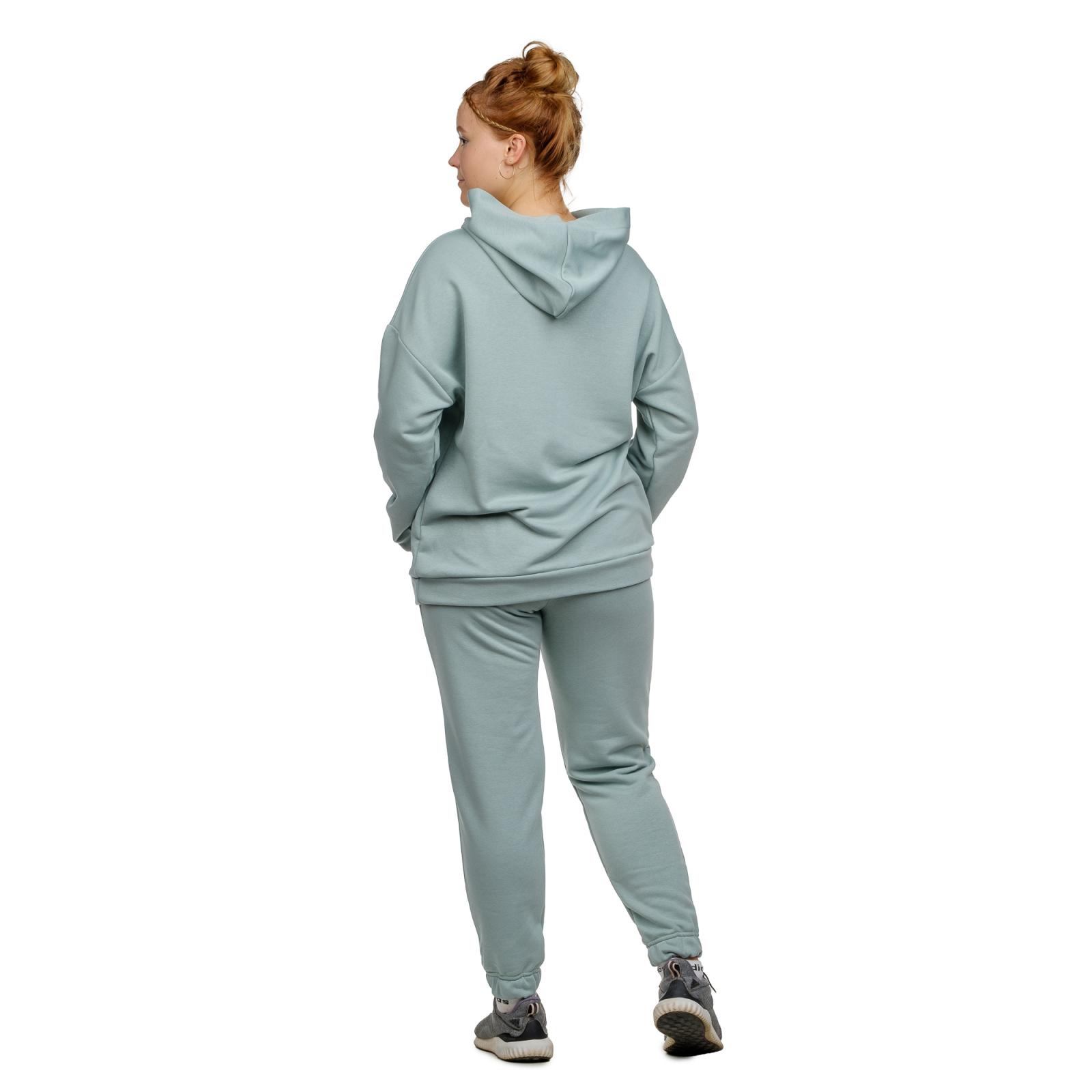 Костюм футер-петля Ментол (худи+брюки) М-0186М