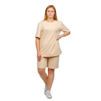 Костюм (футболка + шорты) бежевый М-0204БЕЖ