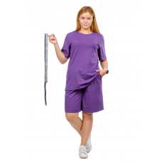 Костюм (футболка + шорты) сиреневый М-0204СИР