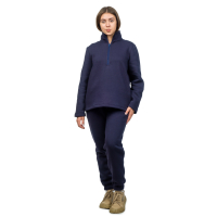 Костюм с начёсом Тёмно-синий  (толстовка + брюки) М-94/186ТС