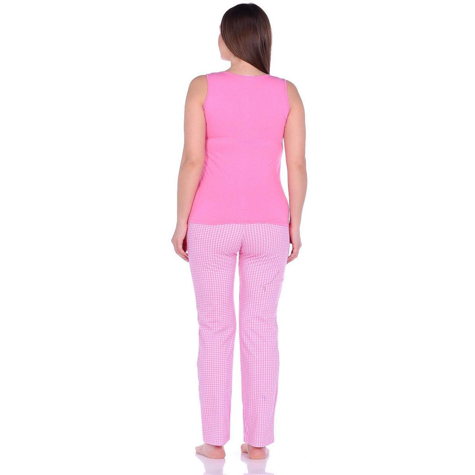 Костюм домашний Розовая клетка М-0053/63