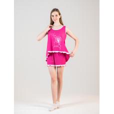 Пижама розовая Одуванчик М-0048Р