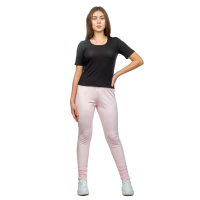 Лосины розовые (велюр) М-0150Р
