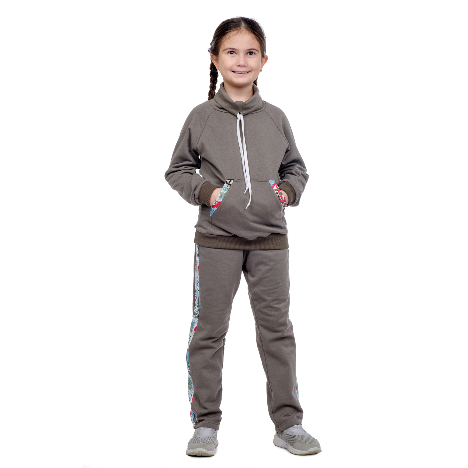 Костюм  детский хаки Д-0016ХАК
