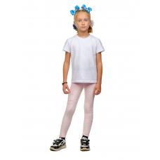 Лосины детские в ассортименте  (розовый велюр) Д-0012ЦВ