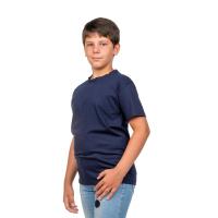 Футболка детская т-синяя Д-0001ТС