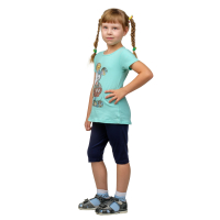 Бриджи детские в ассортименте (вискоза) Д-0011ЦВ