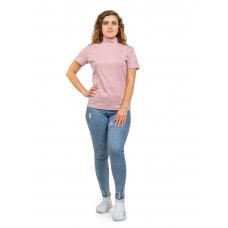 Водолазка-американка Розовая пудра М-0096Р