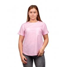 Футболка розовая (пёстрая) М-0116Р
