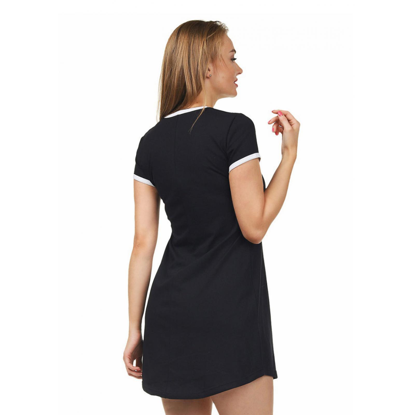 Домашнее платье (принт) Сова М-0012Ч