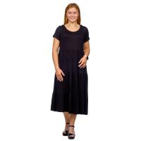 Платье Карина (вискоза)  Чёрное М-0203Ч