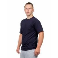 Футболка мужская (круглый воротник) тёмно-синяя С-0001ТС