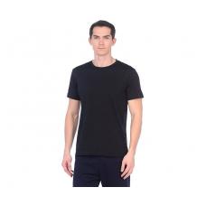 Футболка мужская (круглый воротник) чёрная С-0001Ч