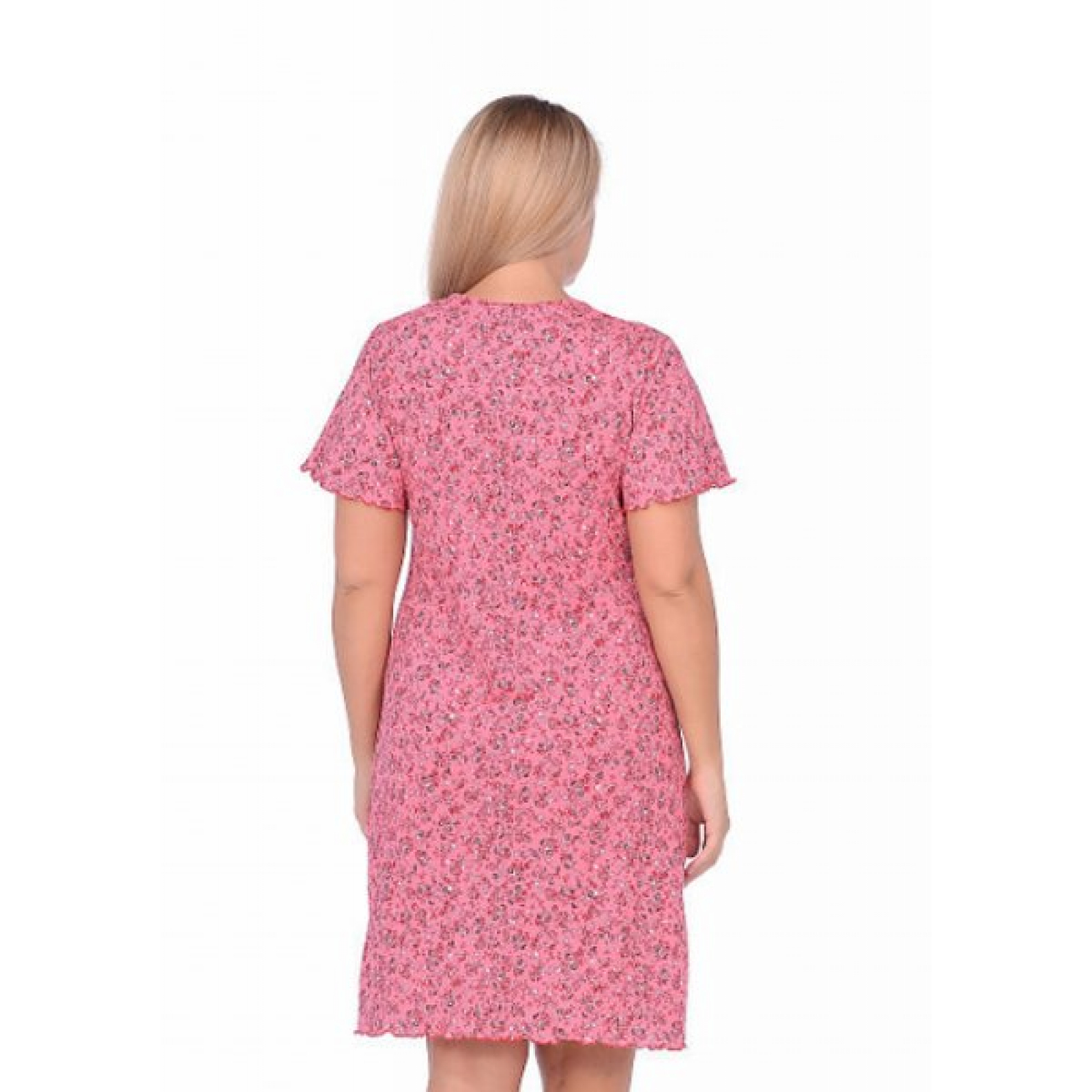 Сорочка Розовые цветочки М-0065Р