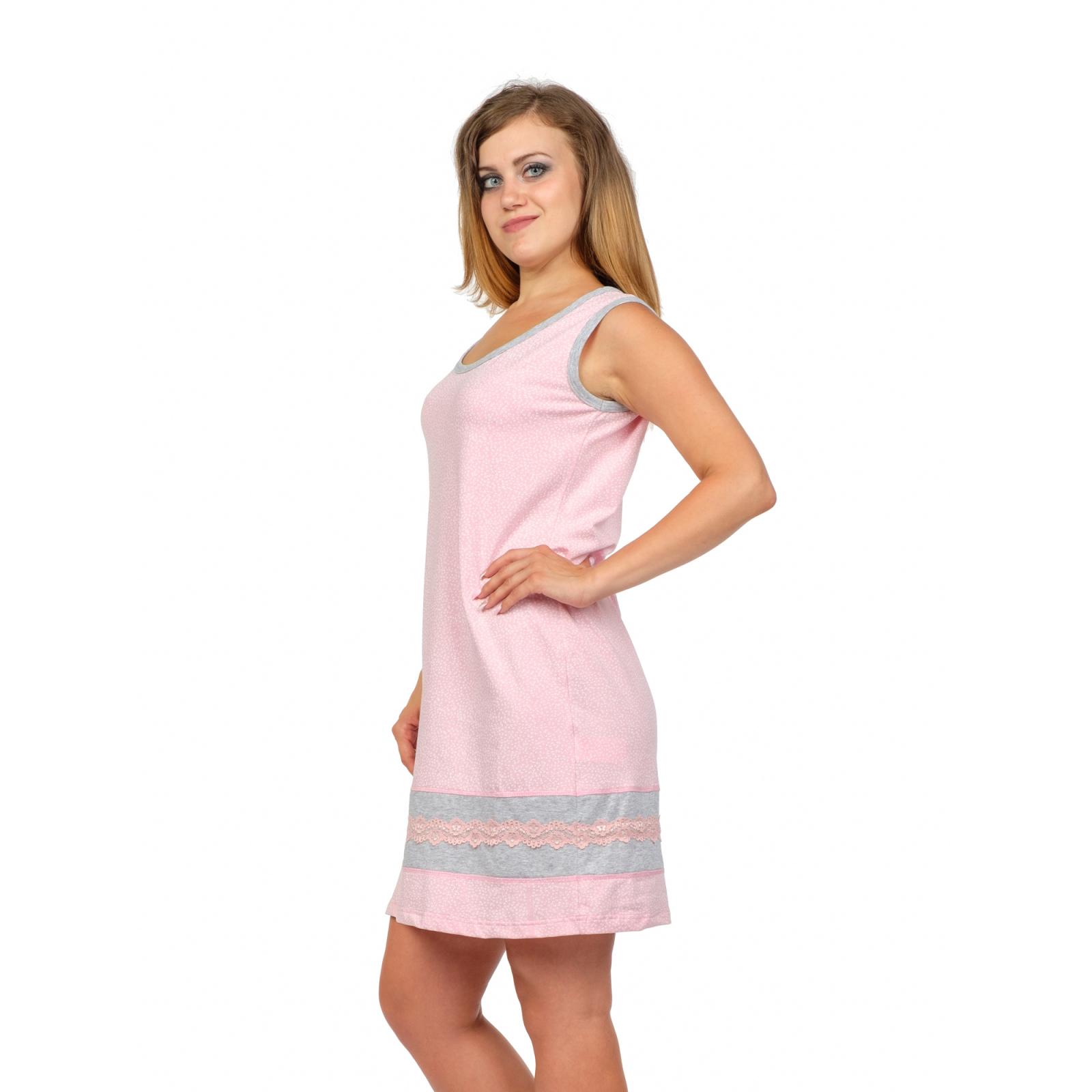 Сорочка розовая Алина М-0125Р