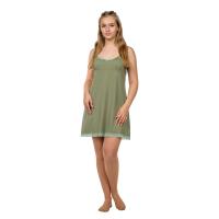 Сорочка на лямках (фисташка, кружево) Кристина М-0005ФИС