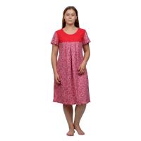 Сорочка Красная кокетка М-0068К