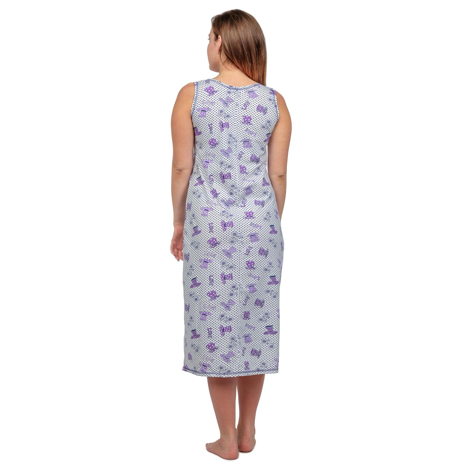Ночная сорочка (бабушкина) Сирень  М-0042СИР