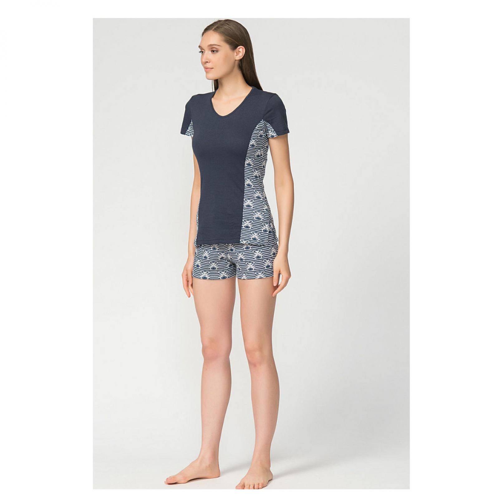 Пижама Зебра (футболка + шорты) М-0043