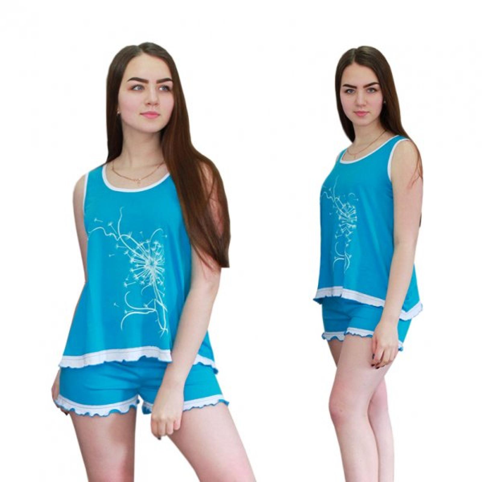 Пижама голубая Одуванчик М-0048Г