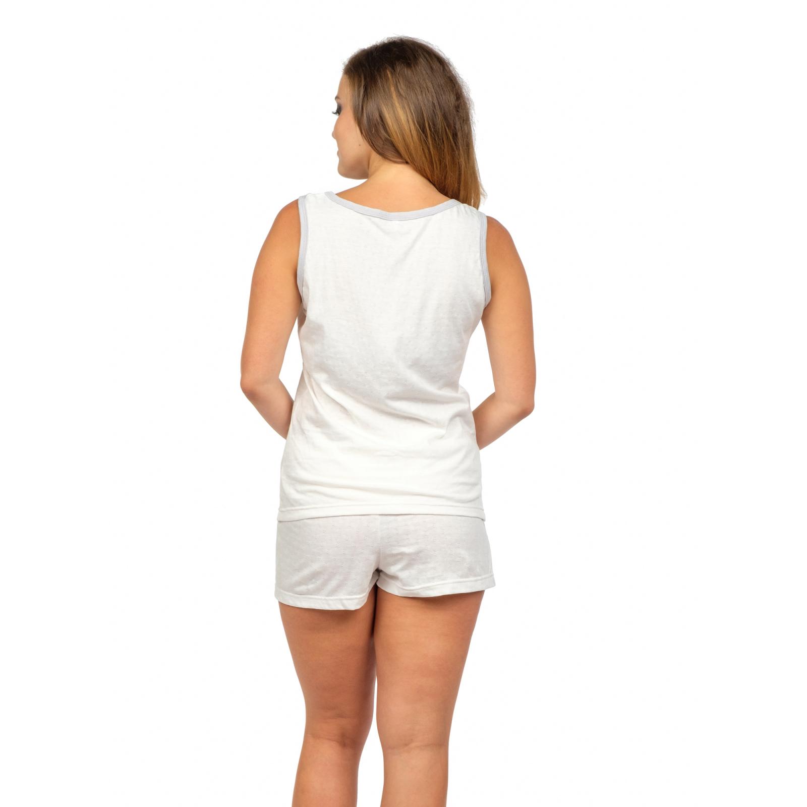 Пижама (белая с гипюром) Мария М-0127Б