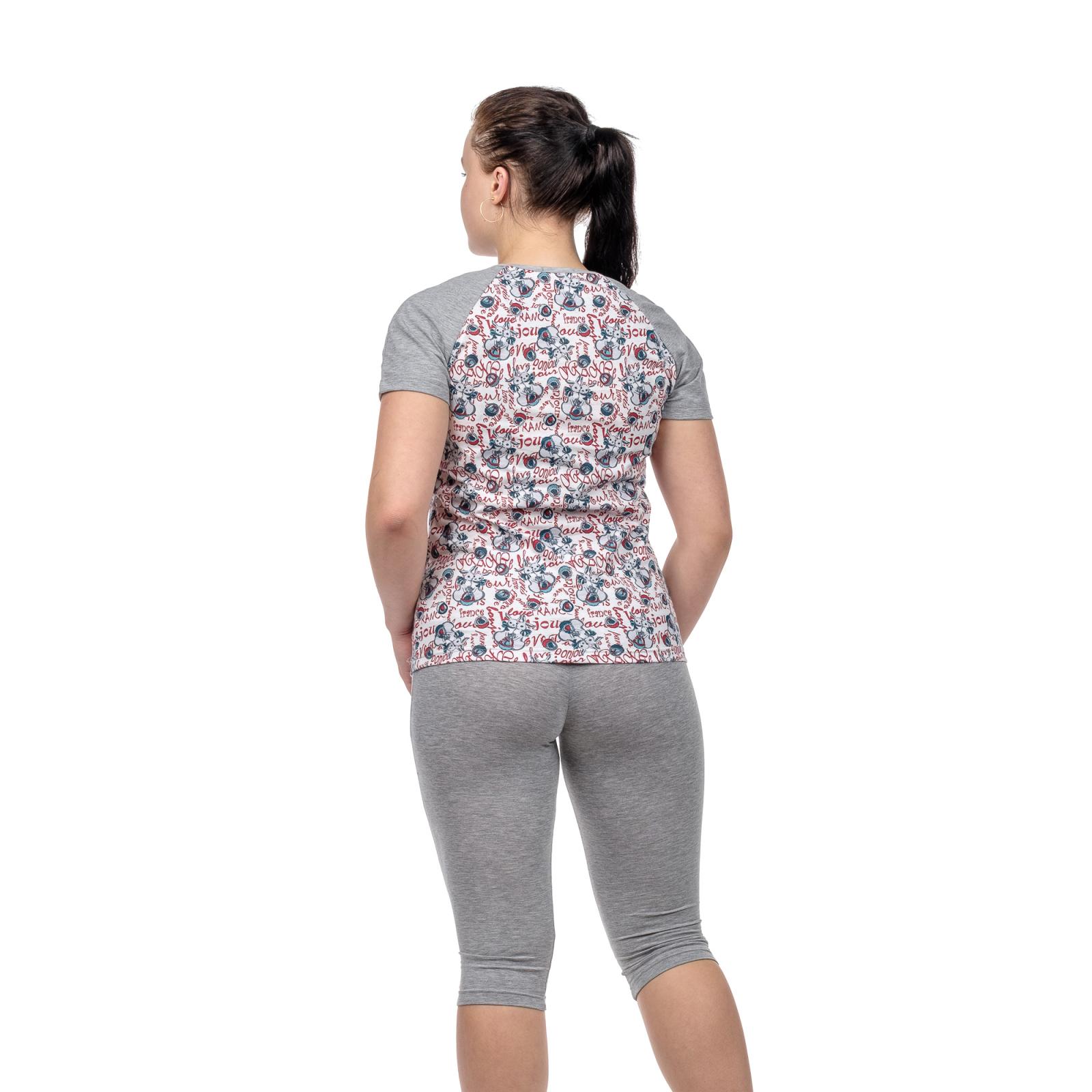 Пижама Зайки (футболка + бриджи) М-0124Б