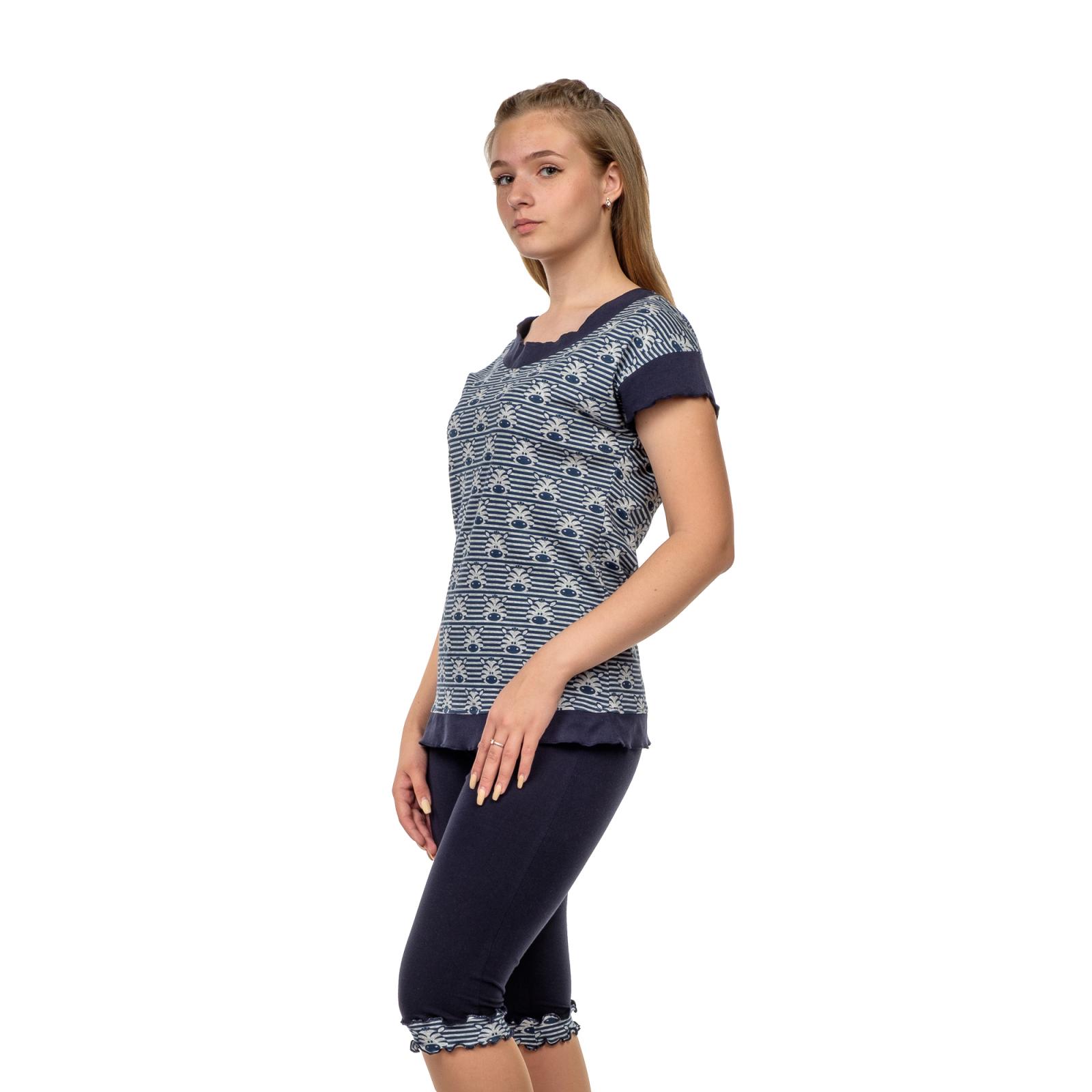 Костюм домашний (футболка+бриджи) Зебра М-0045