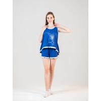 Пижама синяя Одуванчик М-0048С