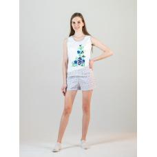 Пижама Незабудка (майка+шорты) М-0099