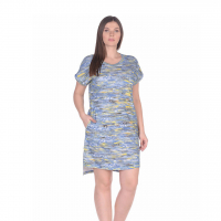 Платье синее (под джинсу) M-0056