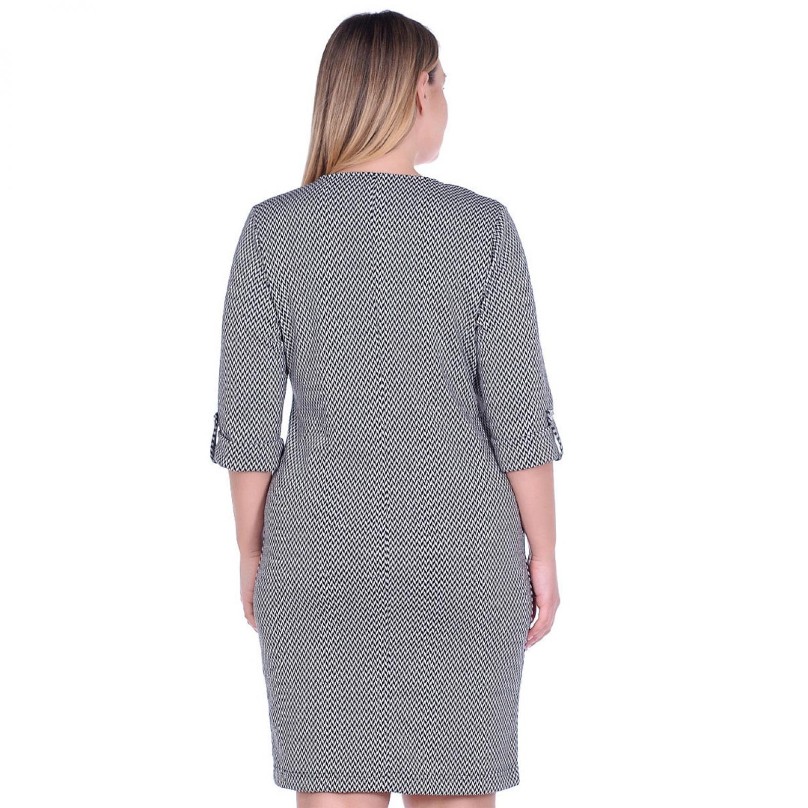 Платье Классика (жаккард, люрекс) М-0088СС