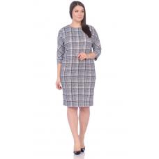 Платье Классика (зелёная клетка) М-146З