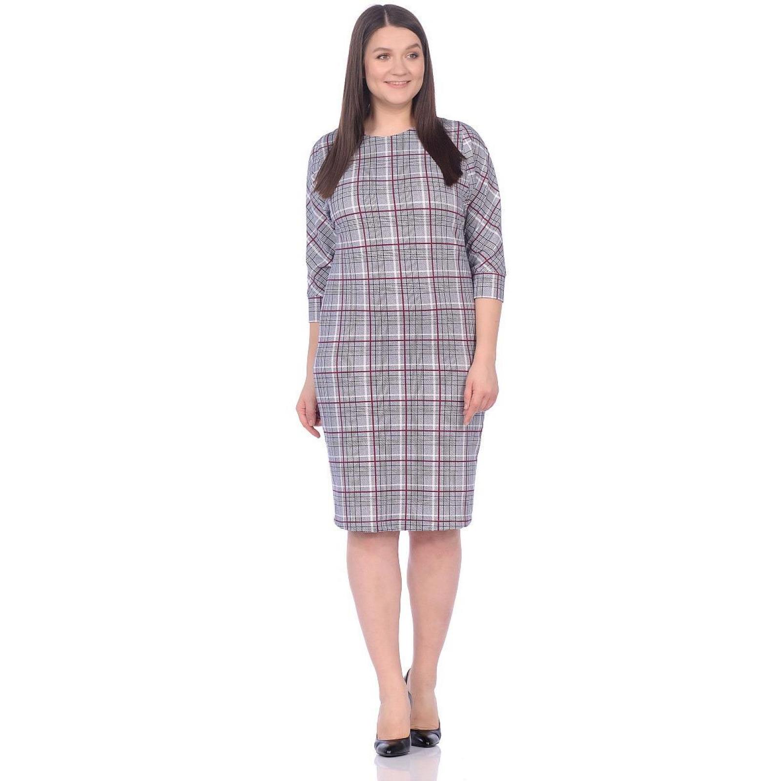 Платье Классика (красная клетка) М-146К