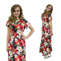 Платье Цветы М-0078