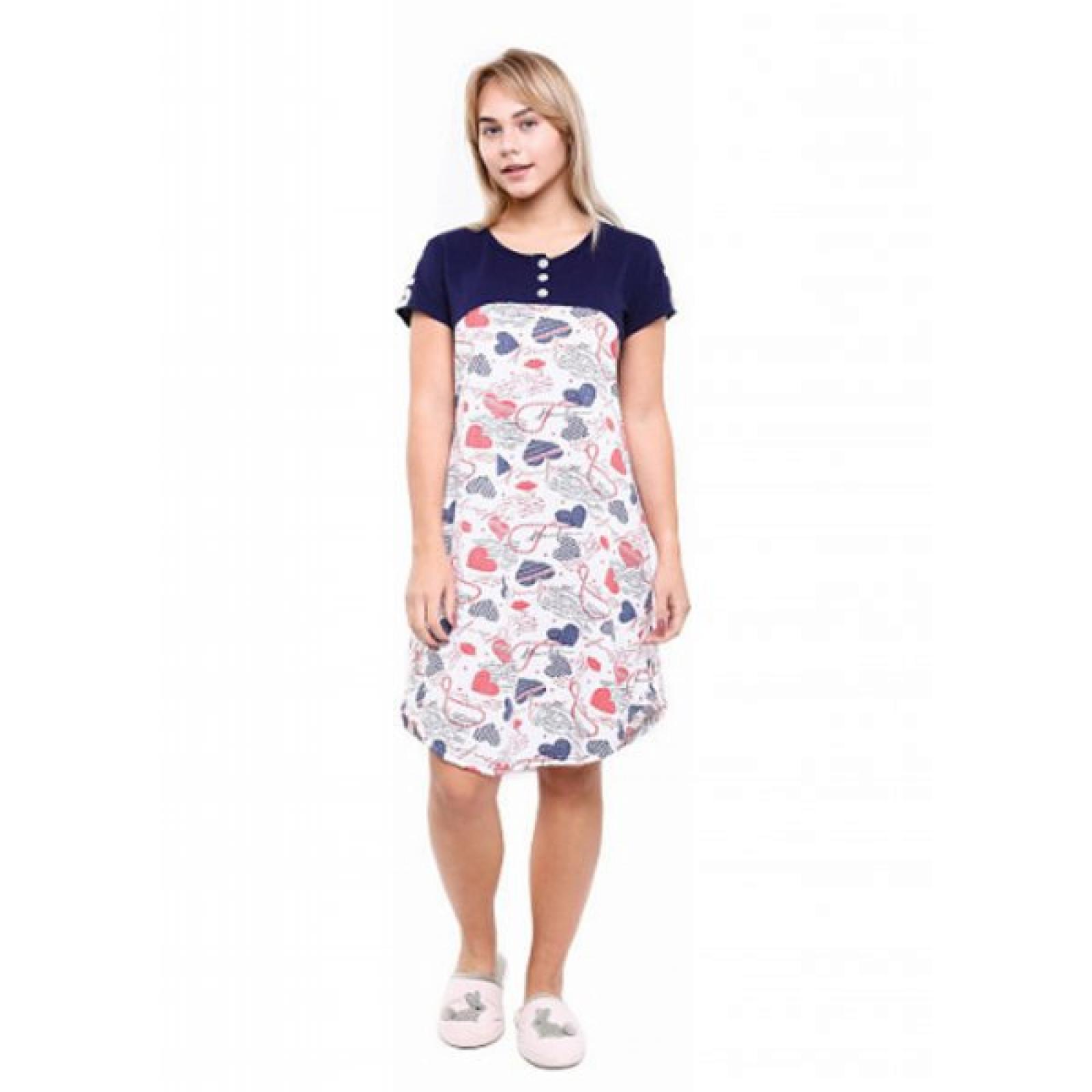 Платье BFG (сердечки) М-0086ТС