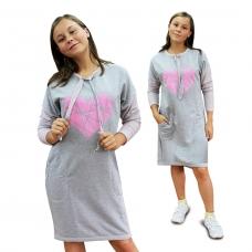 Платье Мила (футер) М-0032