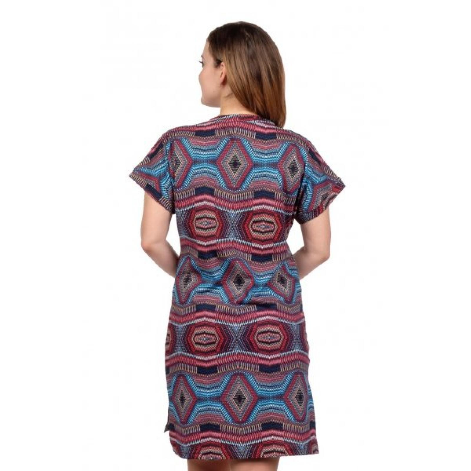 Платье Абстракция (мультиколор) М-0056М