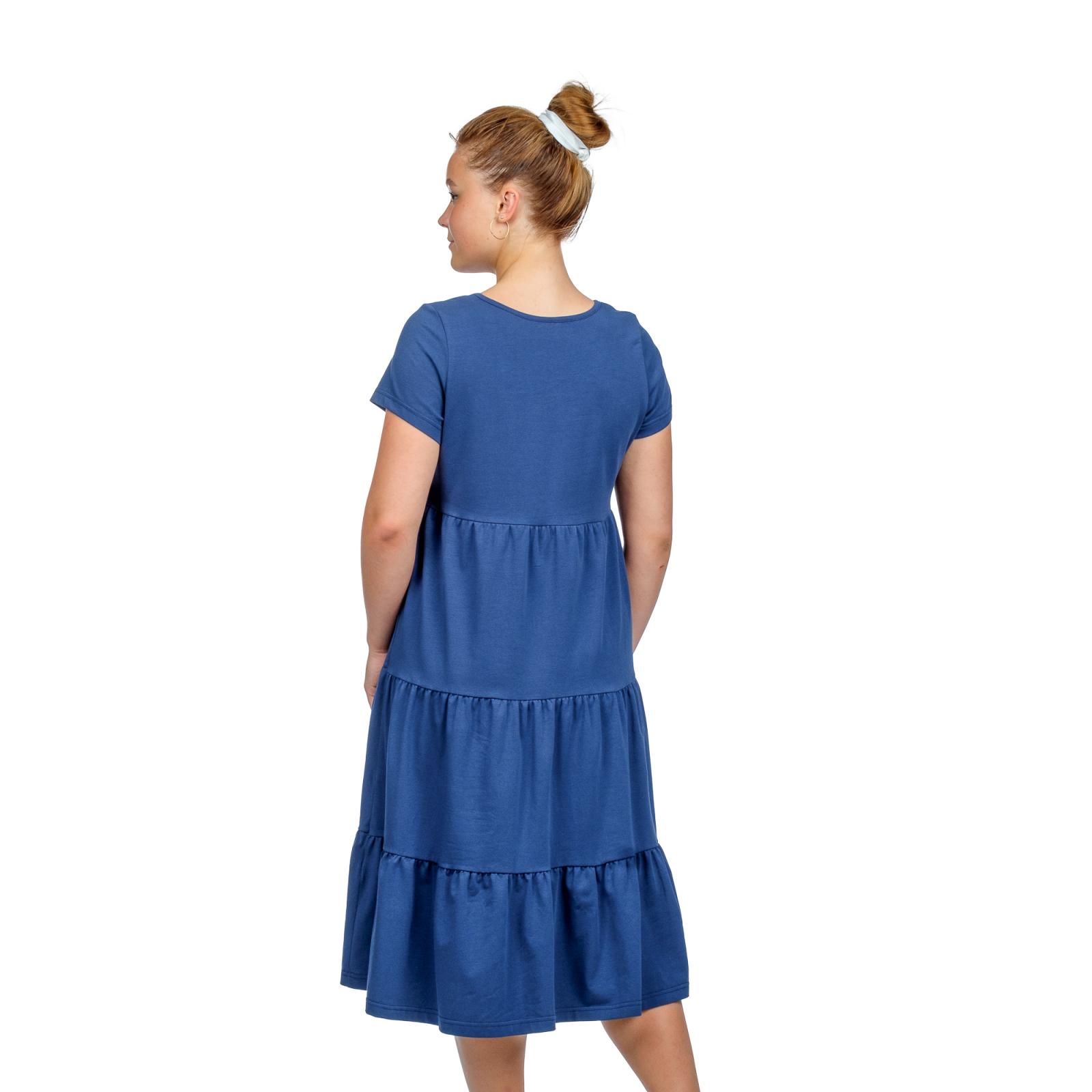 Платье Карина (тёмно-синее) М-0203ТС