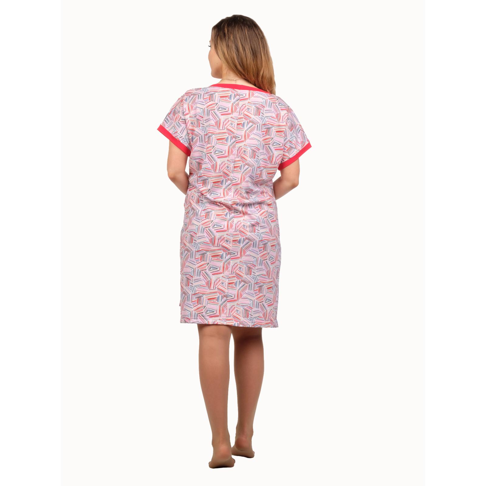 Платье абстракция (мультиколор) Моника М-0056К