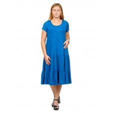 Платье Карина (вискоза)  Индиго М-0203С