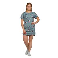 Платье зелёное Панда М-0056З