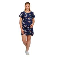 Платье тёмно-синее Панда М-0056ТС