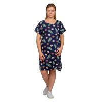 Платье синее Кокос М-0056ТС