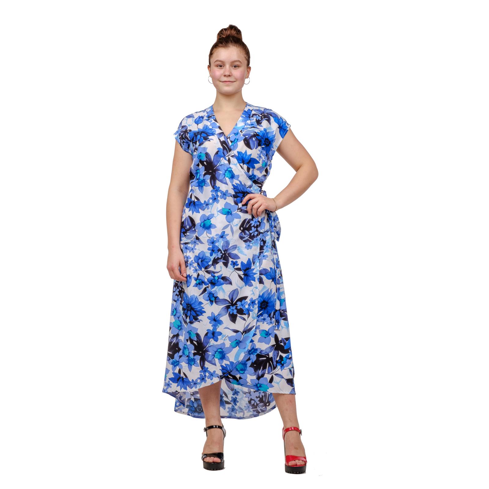 Платье с запахом (штапель)