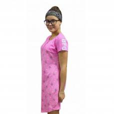 Платье BFG розовое М-0086Р